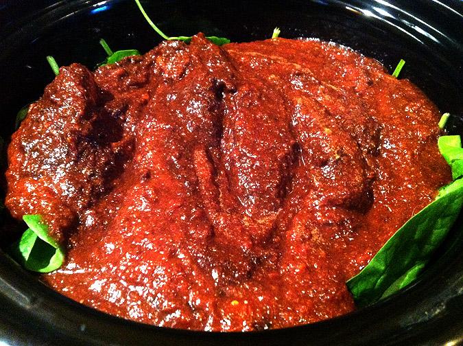 Pre-cooked-cocoa-chili