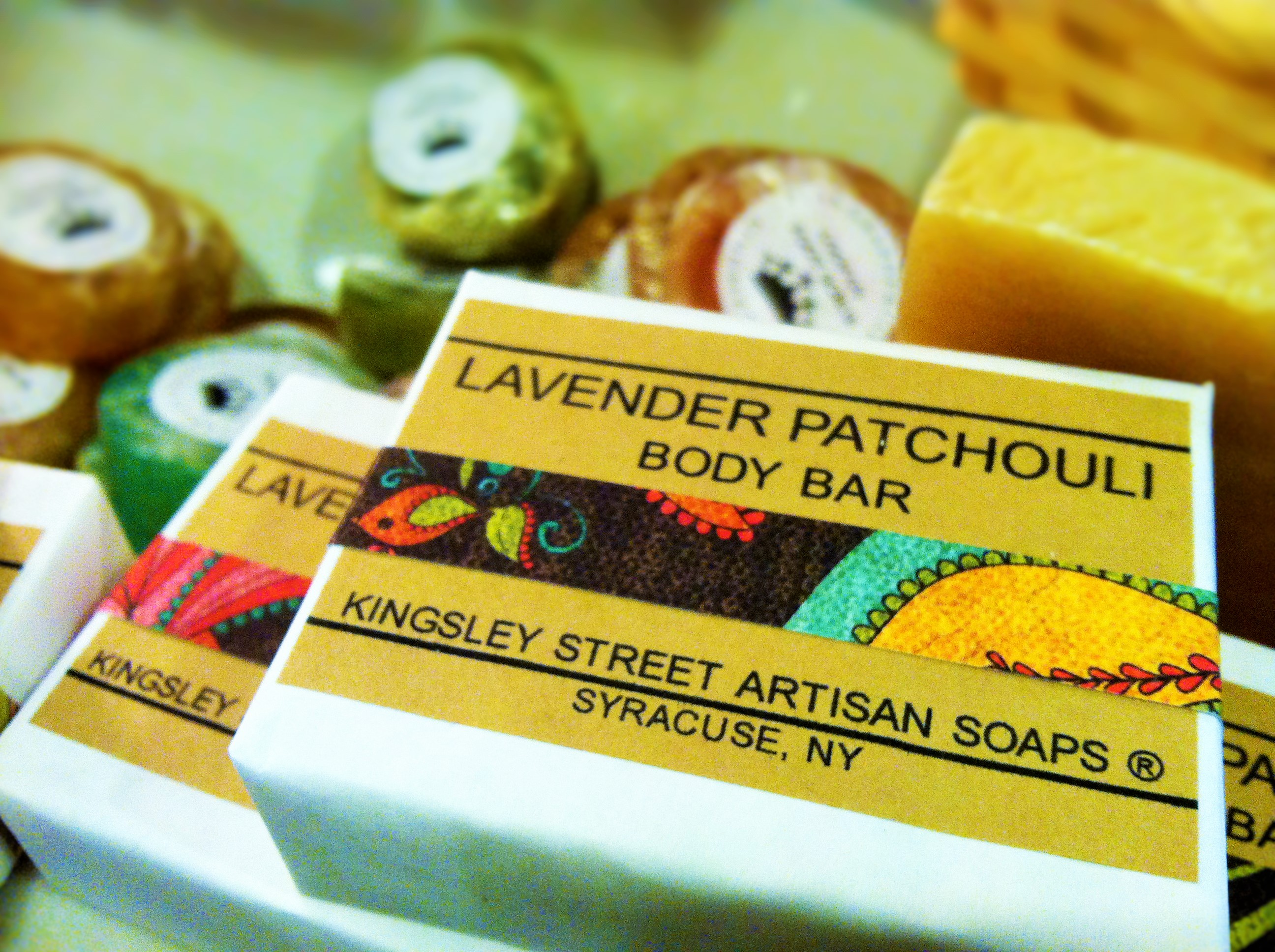 Lavender Patchouli Body Bar