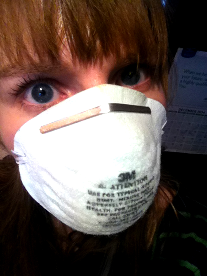 Dust mask for allergies