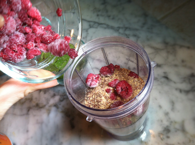 Nutrition-packed breakfast smoothie