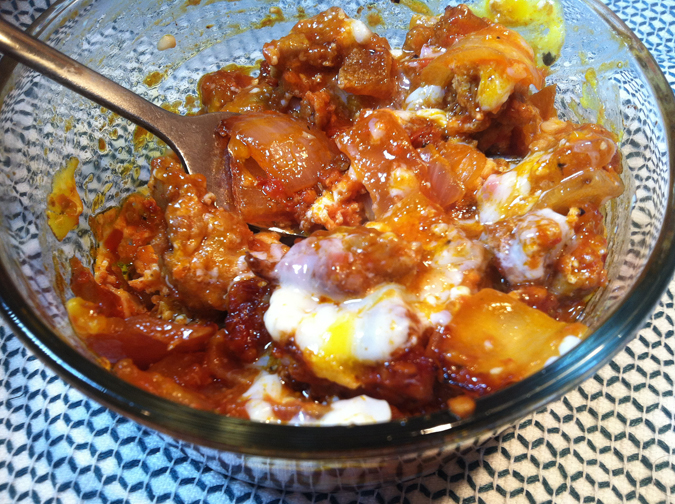 Spicy, lovely eggs a diavolo (quick and healthy)