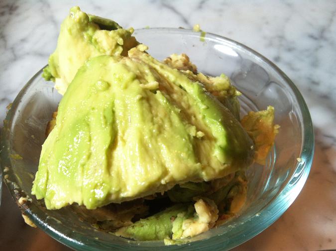 5-ingredient dark chocolate avocado cookies