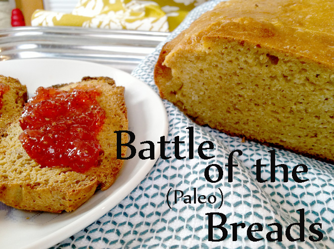 "Battle of the Breads: Which Paleo recipe will ""rise to the top""?"